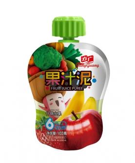 什锦水果果汁泥