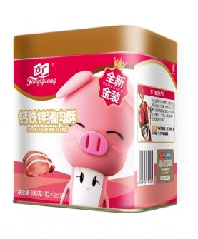 鈣鐵鋅豬肉酥