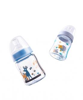 宽口径玻璃奶瓶(120ml)