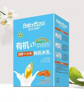 有机米乳盒装225克(胡萝卜小米)