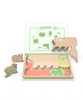 食物链拼图(森林)