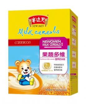 果蔬多维营养奶米粉2段