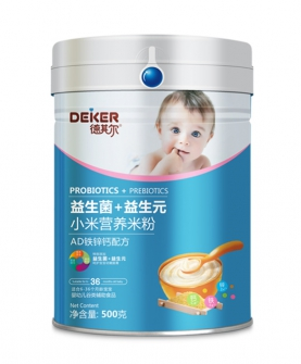500克双益小米营养米粉ad铁锌钙配方