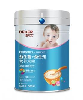 500克双益营养米粉果蔬多维配方