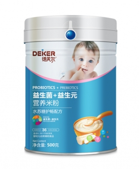 500克双益营养米粉水苏糖护畅配方