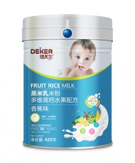 425克蒸米乳米粉多维高钙水果配方香蕉味