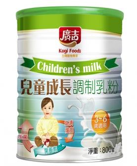 儿童成长乳粉