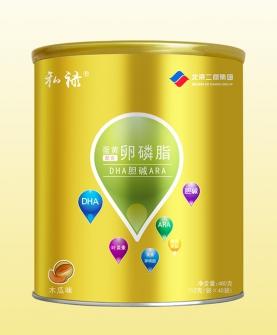 蛋黄卵磷脂配方DHA胆碱ARA冲调型卵胚粉木瓜味