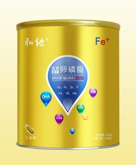 蛋黄卵磷脂配方DHA胆碱ARA强化铁固体饮料