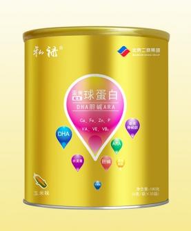 蛋黄球蛋白配方DHA胆碱ARA冲调型卵胚粉玉米味