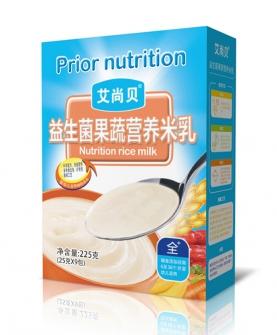 益生菌果蔬营养米乳