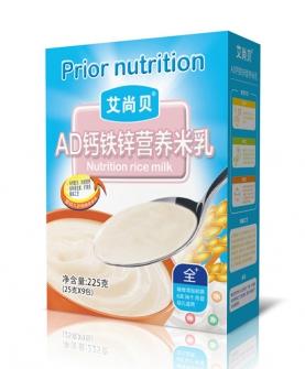 ad钙铁锌营养米乳