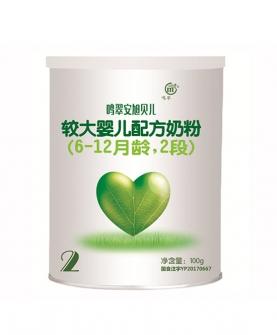 j较大婴儿配方奶粉(6-12月龄,2段)100g