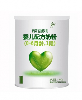 婴儿配方奶粉(0-6月龄,1段)100g