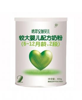 j较大婴儿配方奶粉(6-12月龄,2段)400g