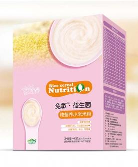 免敏益生菌纯小米米粉