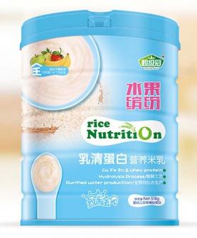 水果缤纷乳清蛋白营养米乳