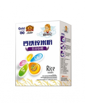 钙铁锌米粉盒装-五谷杂粮
