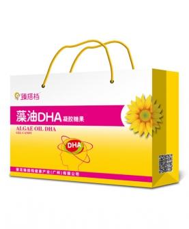 藻油dha凝胶糖果 90粒手提袋
