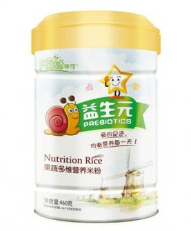 益生元果蔬多維營養米粉聽