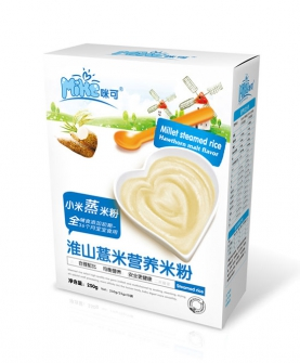 小米蒸米粉淮山薏米盒