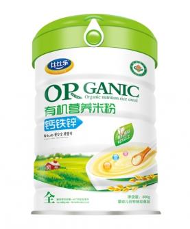 钙铁锌有机营养米粉