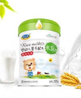 果蔬多维婴幼儿营养配方米乳
