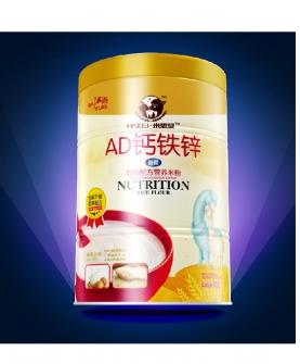 AD钙铁锌均衡营养米粉