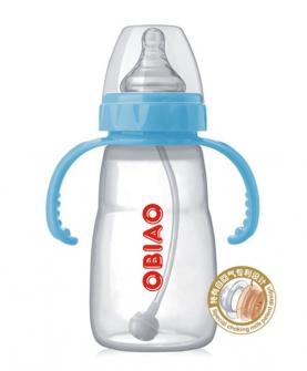 宽口径硅胶奶瓶240ml