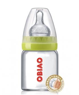 标准口径高硼硅玻璃奶瓶60ml