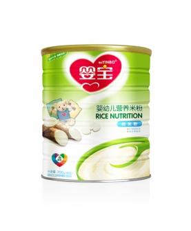 婴幼儿营养米粉700克铁听-纯米粉配方