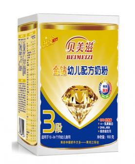 金钻幼儿配方奶粉