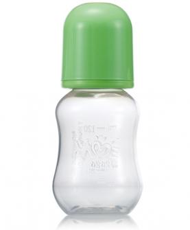120毫升PP葫芦奶瓶绿色