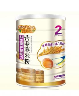 益生菌护畅配方蒸米粉2段
