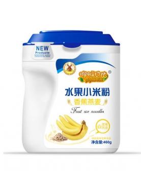 香蕉燕麦水果小米粉全段460g