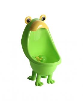 男宝可移动青蛙小便斗绿色