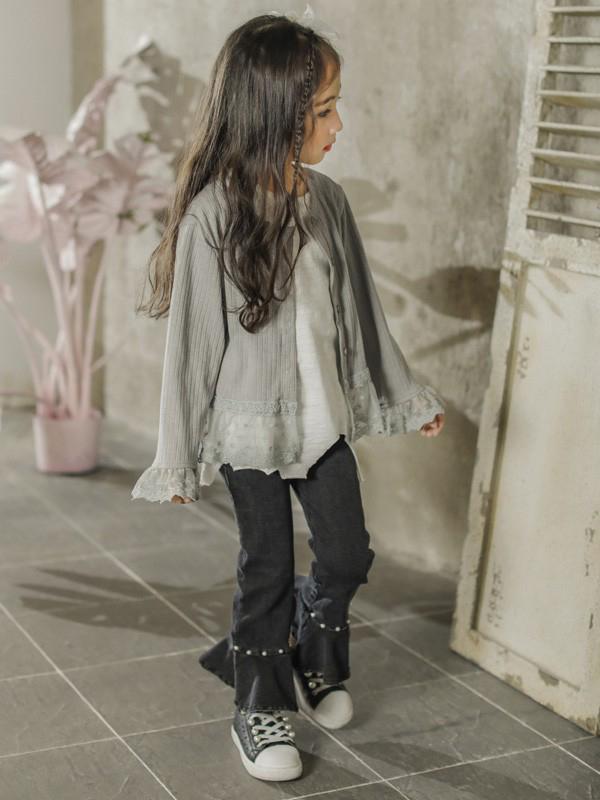 大头儿子和小头爸爸儿童装新款女童套装代理,样品编号:69993