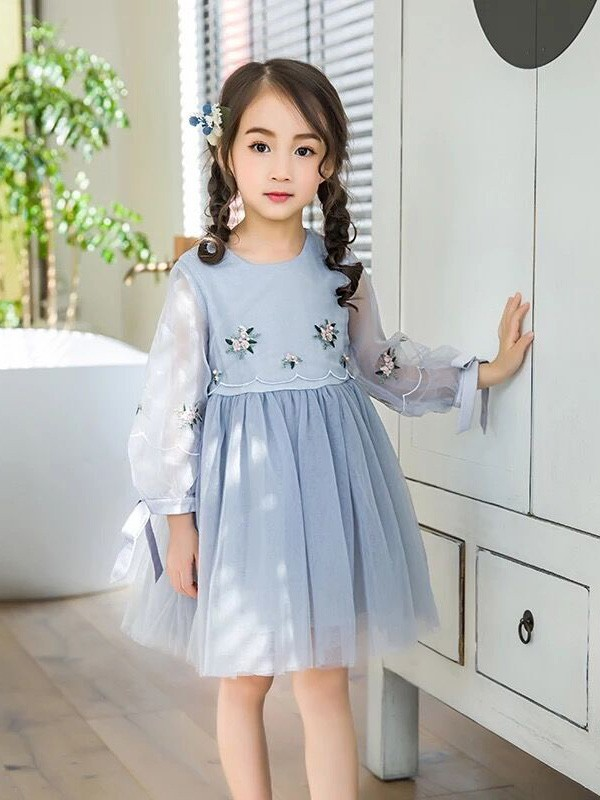 嘀咕熊儿童装新款连衣裙代理,样品编号:70001