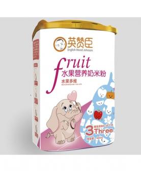水果多维水果奶米粉3段