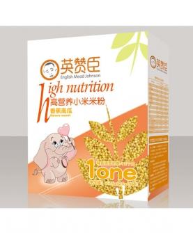 香蕉南瓜高营养小米米粉1段盒装