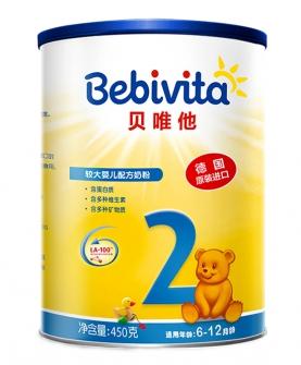 较大婴儿奶粉2段