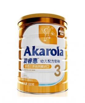 新西兰原装进口牛奶粉3段