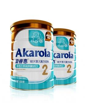 新西兰原装进口奶粉婴儿奶粉2段