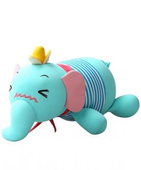 害羞小象毛绒玩具