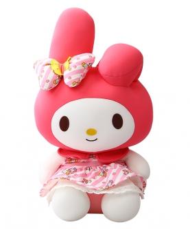 雪花粒子hello kitty公仔玩偶