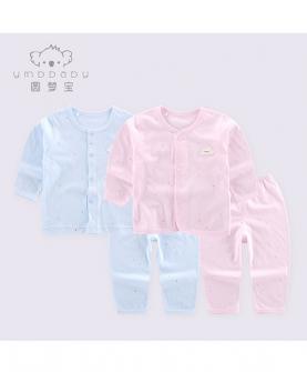 嬰兒衣服夏季薄款純棉套裝