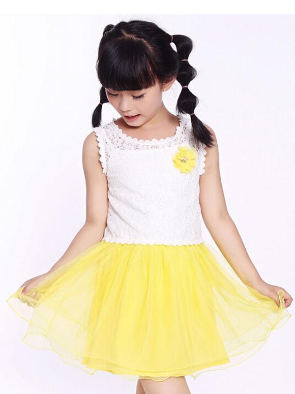 伟尼熊新款儿童连衣裙