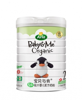 有机奶粉2段