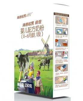 婴儿配方奶粉1段150g盒装