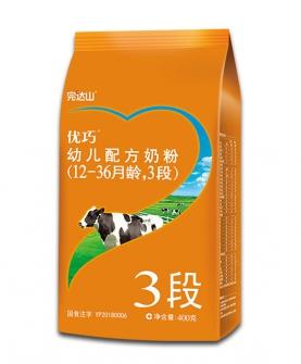 3段牛奶粉400g袋